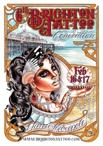 Brighton Tattoo Convention 2013 coming up...