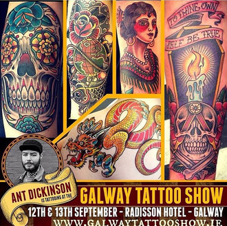 Galway Tattoo Show 2015 coming up...