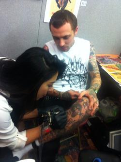 1st Tattoo by Jen