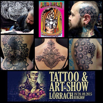 Lörrach Tattoo & Art show Germany 2015 coming up...