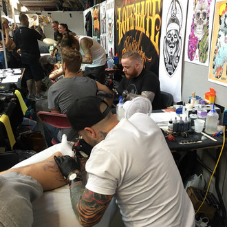 Great weekend at the London Tattoo Convention
