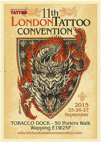 The London Tattoo Convention 2015 coming up...