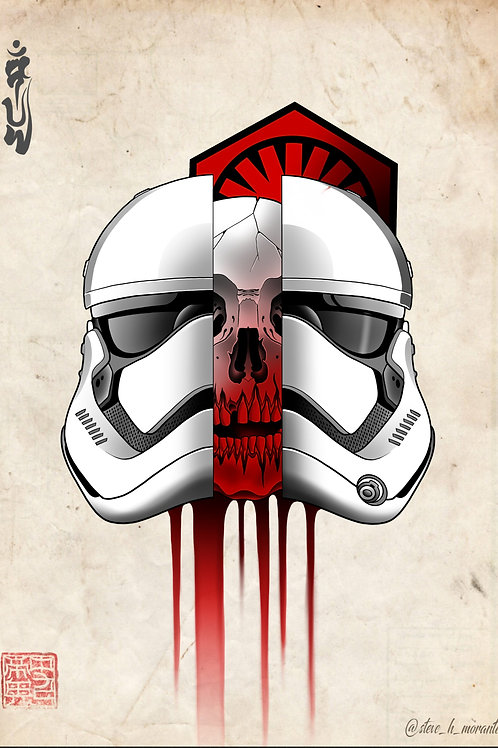 First order Stormtrooper skull
