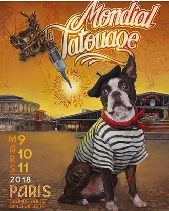 Coming up.. Mondial Tatouage, Paris Convention Mar 9, 10 & 11th