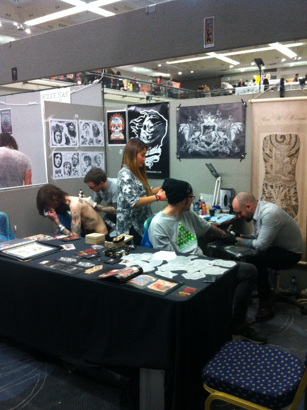 Brighton Tattoo Convention 2014
