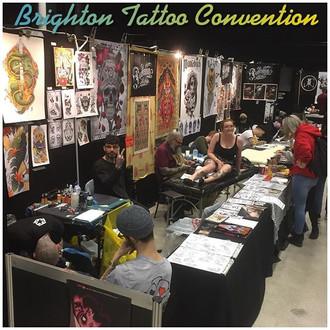 Brighton Tattoo Convention, Feb 24-25th