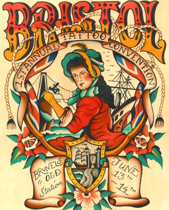 1st Bristol Tattoo Convention 2015 coming up...