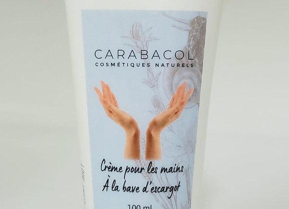 Crème pour les mains à la bave d'escargot