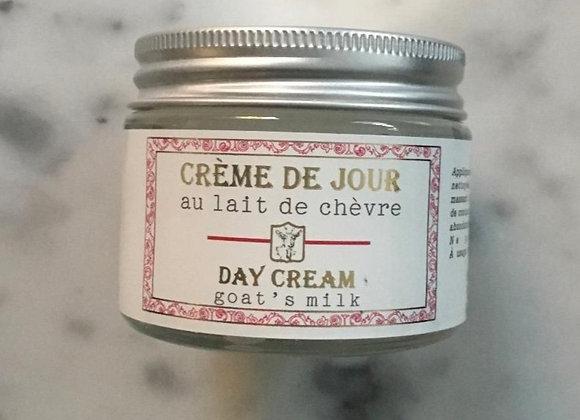 Crème de jour au lait de chèvre