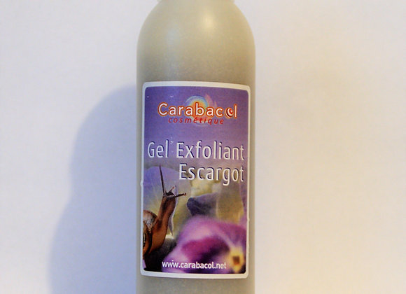 Gel exfoliant escargot