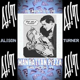AliT at Manhattan Pizza Pub