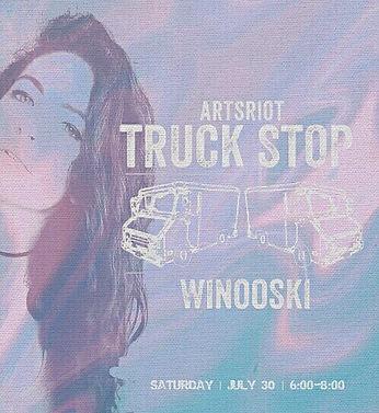 AliT at ArtsRiot TruckStop