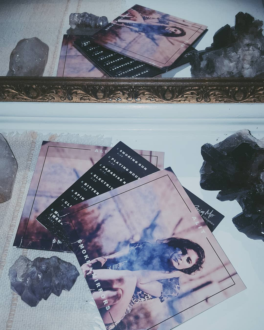 AliT // Smoke & Mirrors CDs