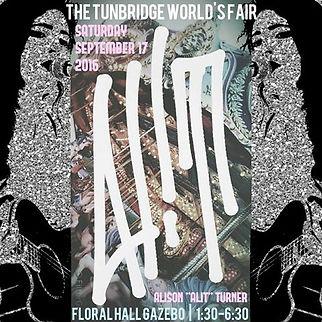AliT at Tunbridge World's Fair