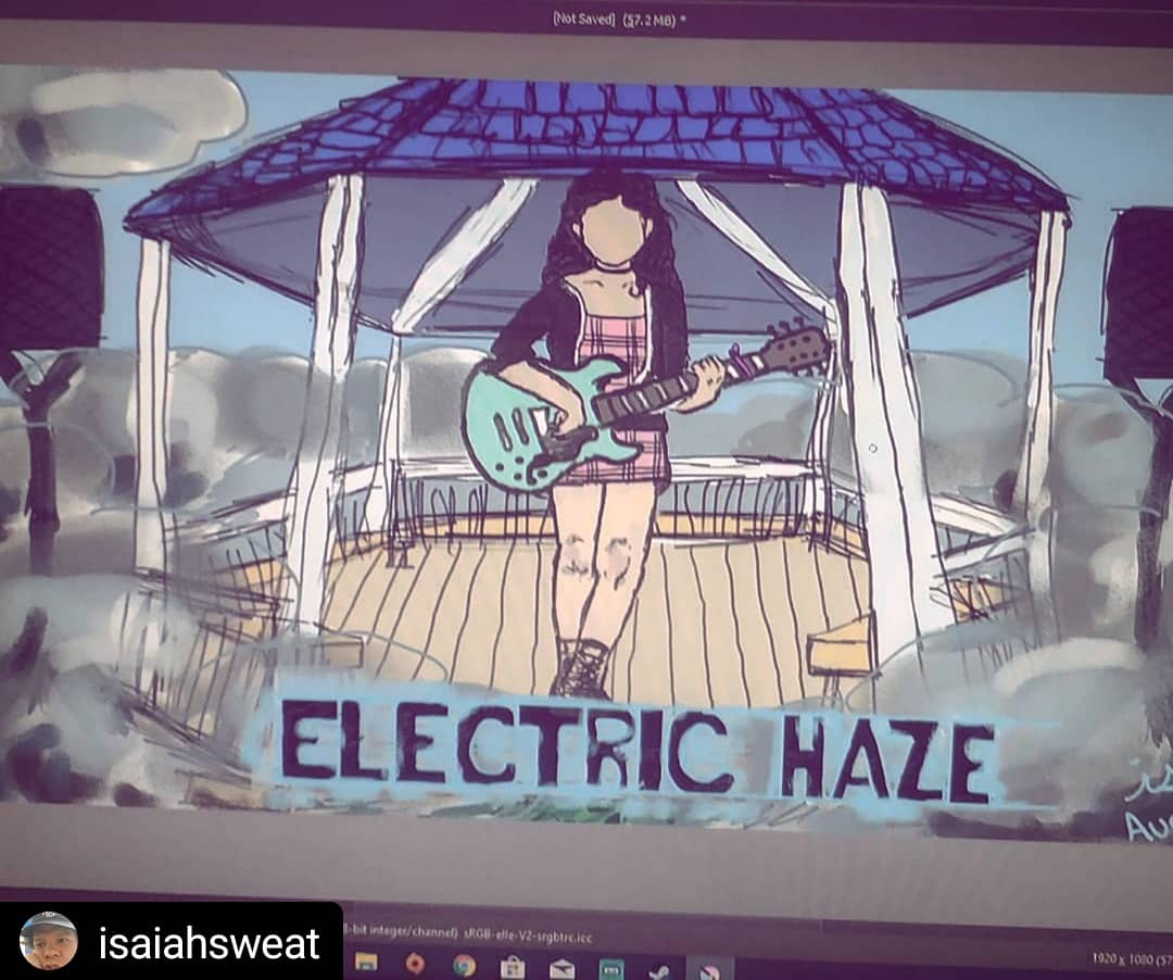 AliT - Electric Haze Fan Art