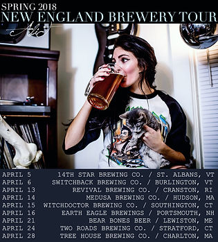 AliT New England Brewey Tour 2018