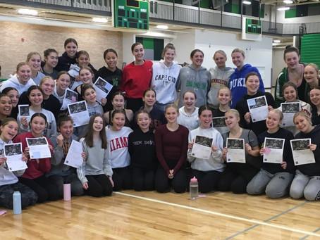 Communicating with Confidence Workshop: Edina Dance Team