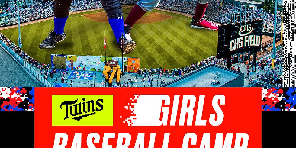 Twins Girls Baseball Camp
