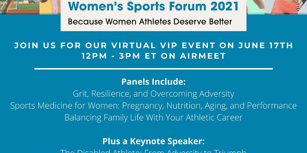 Women's Sports Forum 2021
