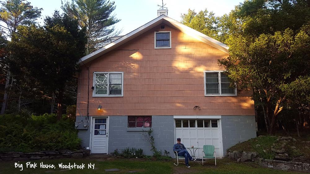 Big Pink House Woodstock NY