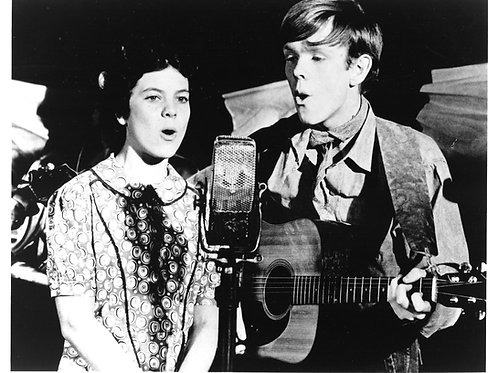 """""""The Waltons"""" Jason and Sally Anne Harper - Autographed Photo"""