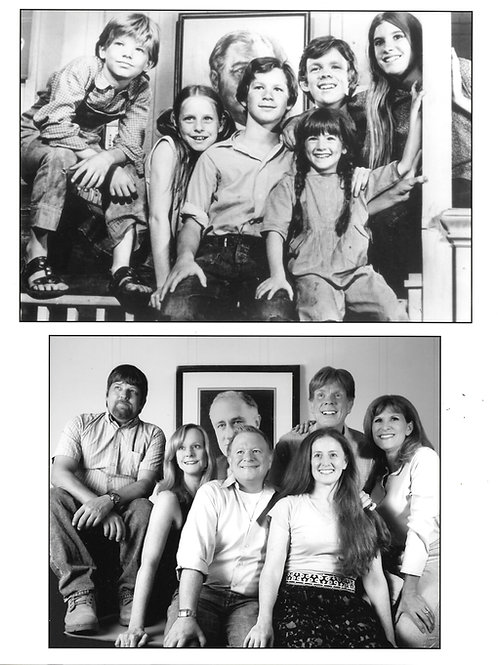 """The Waltons"" Kids - Then and Now - Autographed Photo"