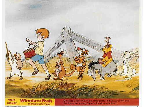 """""""Winnie The Pooh/Christopher Robin"""" Autographed Photo #2"""