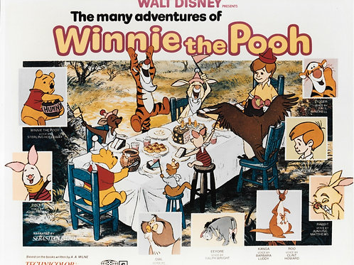 """""""Winnie The Pooh/Christopher Robin"""" Autographed Photo #3"""