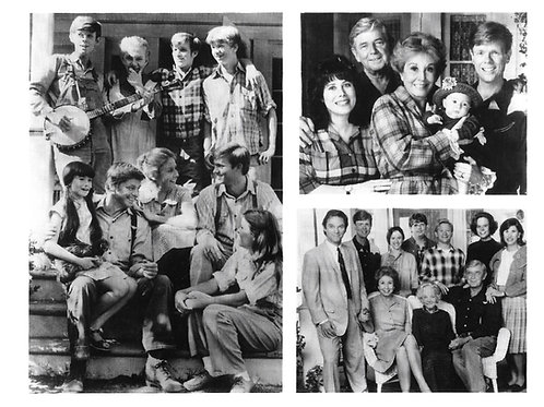 """The Waltons"" Family Shots - Autographed Photo"