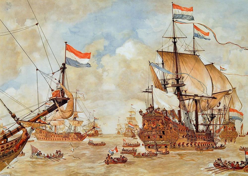 Dutch Ships 1619