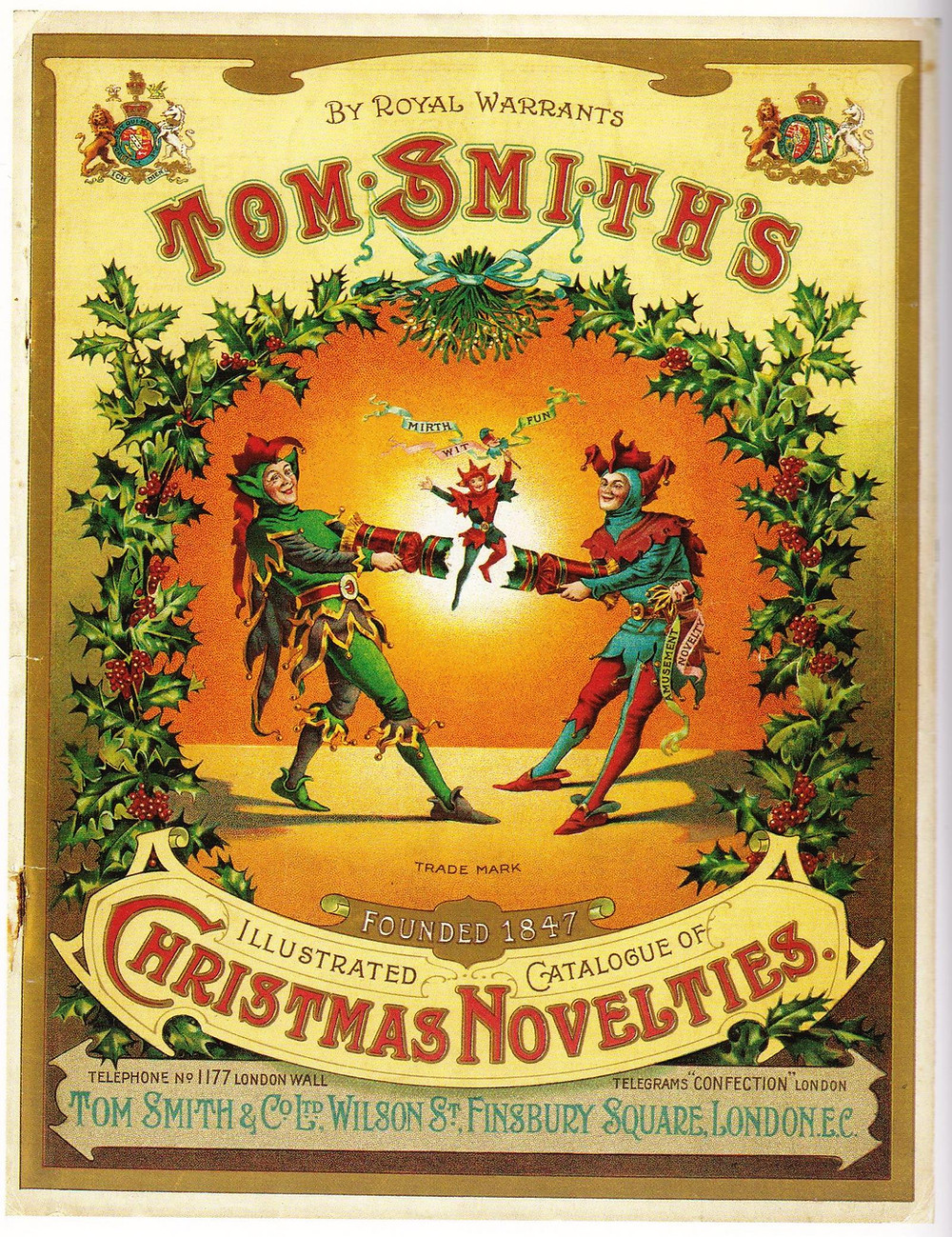 Tom Smith Christmas Cracker Ad