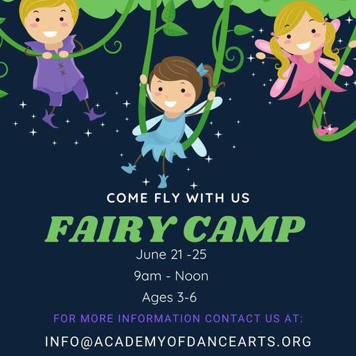 Fairy Camp June 21-25
