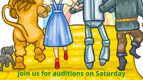 Audition for The Wizard of Oz!