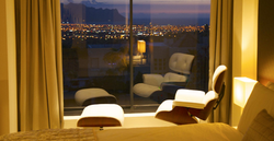 View from your suite day and night