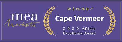 Cape Vermeer 2020 African Excellence Awa