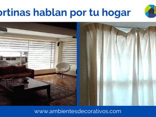 Las cortinas hablan por tu hogar