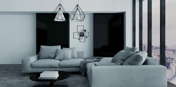decoracion minimalista - cortinas y persianas ambientes decorativos