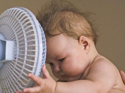 Ինչպես հաղթահարել սարսափելի շոգը