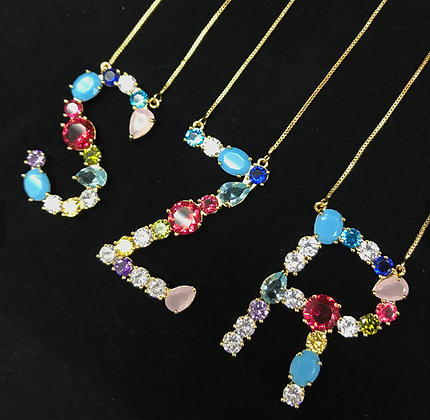 Letter Necklace III