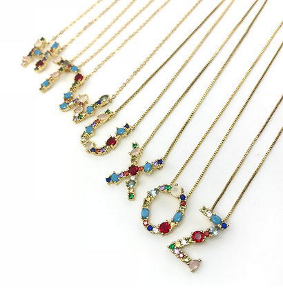 Letter Necklace II