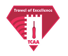 TCAA trowel of excellence.PNG