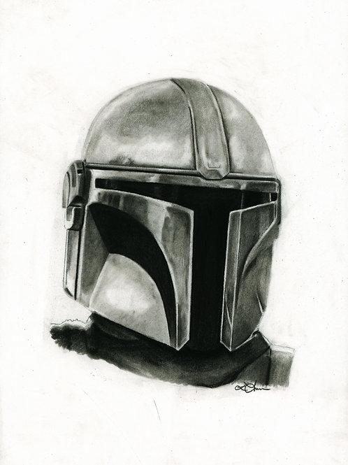 A5 Print  - Din Djarin (Star Wars - The Mandalorian)
