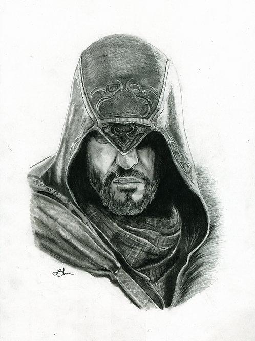 A5 Print  - Ezio (Assassin's Creed Revelations)