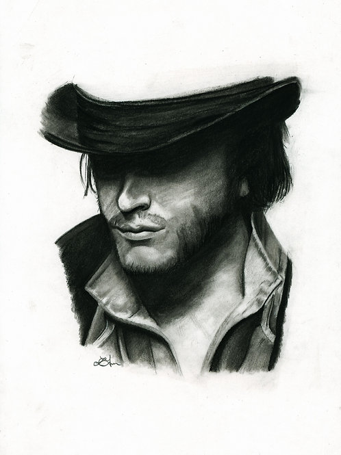 A5 Print  - Jacob (Assassin's Creed  Syndicate)