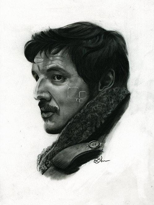 A5 Print  - Pedro Pascal