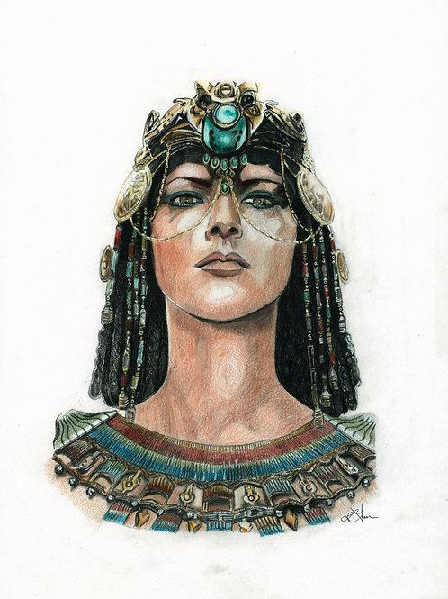A5 Print  - Cleopatra (Assassin's Creed Origins)
