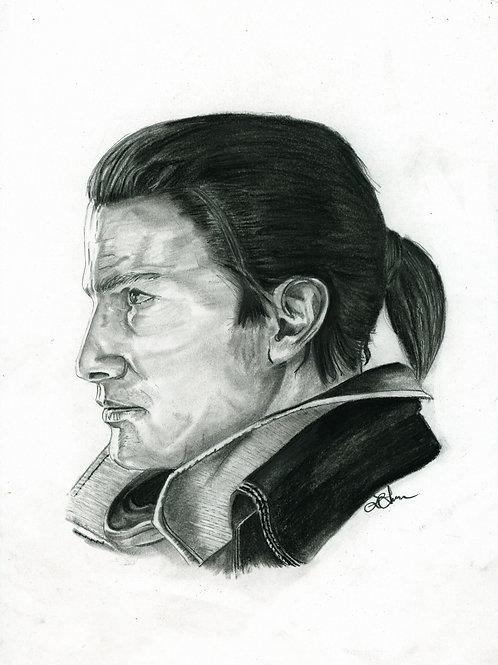 A5 Print  - Shay (Assassin's Creed Rogue)