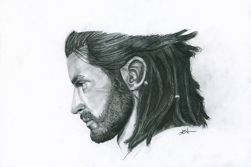 A5 Print  - Alexios (Assassin's Creed Odyssey)