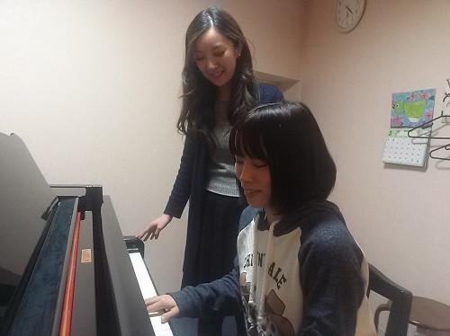 ピアノ個人レッスン レッスン写真