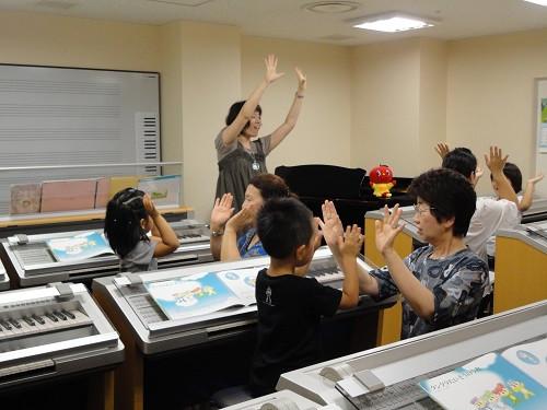 ヤマハ音楽教室 レッスン写真